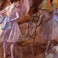 Two Dancers In Their Dressing Room by Degas