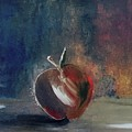 Two Dimensional Apple by Lisa Kaiser