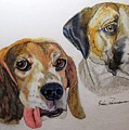Two Dogs by Eric Pearson