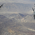 Two F-16 Fighting Falcons Break by Stocktrek Images