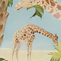 Two Giraffes by Art Museum