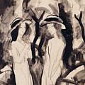 Two Girls by August Macke