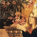 Two Girls With An Oleander by Klimt