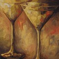 Two Golden Martinis  by Torrie Smiley