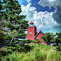 Two Harbors Lighthouse by Deborah Klubertanz