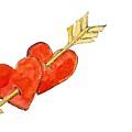 Two Hearts   Arrow by Jennifer Abbot