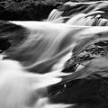 Two Island River Cascade by Larry Ricker