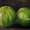 Two Limes by Sarah Lynch