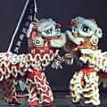 Two Lions Kung Fu Club by Michael Gordon