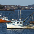 Two Lobster Boats by Alana Ranney