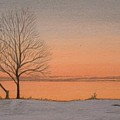 Two Lovers At Sunset by Lynn ACourt