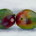 Two Mangoes by Sarah Lynch