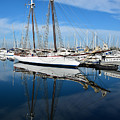 Two Mast Schooner by Robert VanDerWal