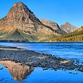 Two Medicine Lake Sunrise Panorama by Adam Jewell