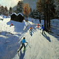 Two Mountain Huts by Andrew Macara