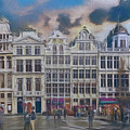 Two Nights In Brussels 17 - La Grande Place by Leigh Kemp