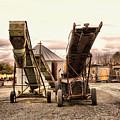Two Old Conveyor Belts by Jeff Swan