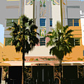 Two Palms Art Deco Building by David Lee Thompson