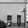 Two Pay Phones by Perry Webster