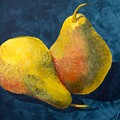 Two Pears by Anna Roberts