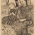 Two Peasant Girls by Paula Modersohn-becker