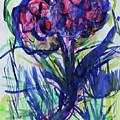 Two Pink Flowers by Katt Yanda