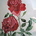 Two Roses by Holly Schussler