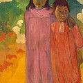 Two Sisters by Gauguin