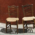 Two Spainisch Chairs  by Dita Van Stipriaan