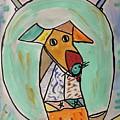 Two Star Greyhound by Mary Carol Williams