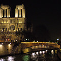 Two Towers Of Notre Dame by Donna Corless