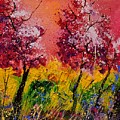 Two Trees by Pol Ledent