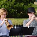 Two Trumpets by Warren Thompson