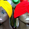 Two Turbans by Ed Weidman