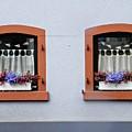Two Windows In Schierstein by Sarah Loft