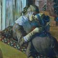 Two Women by Edgar Degas