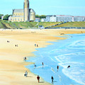 Tynemouth Beach by John Cox