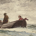 Tynemouth Priory by Winslow Homer