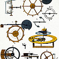 Types Of Clock Mechanism, 1810 by Wellcome Images