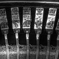 Typewriter Keys by Tom Mc Nemar