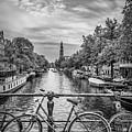 Typical Amsterdam - Monochrome by Melanie Viola