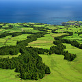 Typical Azores Islands Landscape by Gaspar Avila