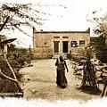 Typical House India Rajasthani Village 1e by Sue Jacobi