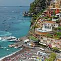 Tyrrhenian Sea Amalfi Coast by Sally Weigand