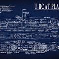 U-boat Submarine Plan by Daniel Hagerman