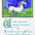 U Is For Unicorn by Lora Serra