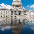 U S Capitol East Front by Steve Gadomski