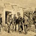 U. S. Cavalry Hunting Garza Men On The Rio Grande by Frederic Sackrider Remington