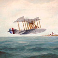 U. S. Coast Guard - Curtiss Flying Boat by William H RaVell III