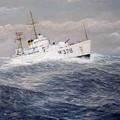 U. S. Coast Guard Cutter Halfmoon by William H RaVell III